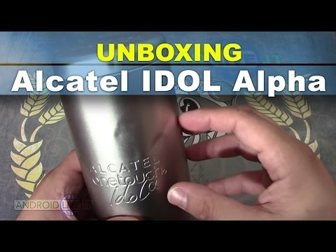 Alcatel One Touch Idol Alpha unboxing ITA da AndroidLive.it