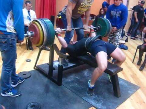 Кубок Полесья - 2016 г. Дмитрий Шашков, попытка на 305 кг.