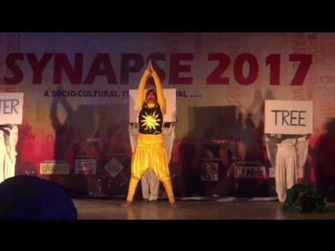 BEST DANCE PERFORMANCE ON SAVE ENVIRONMENT THEME DANCE [2015 BATCH]