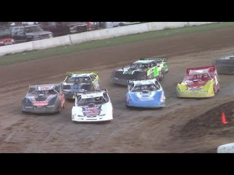 ULMS Super Late Model Heat Three | McKean County Raceway | 9-30-17