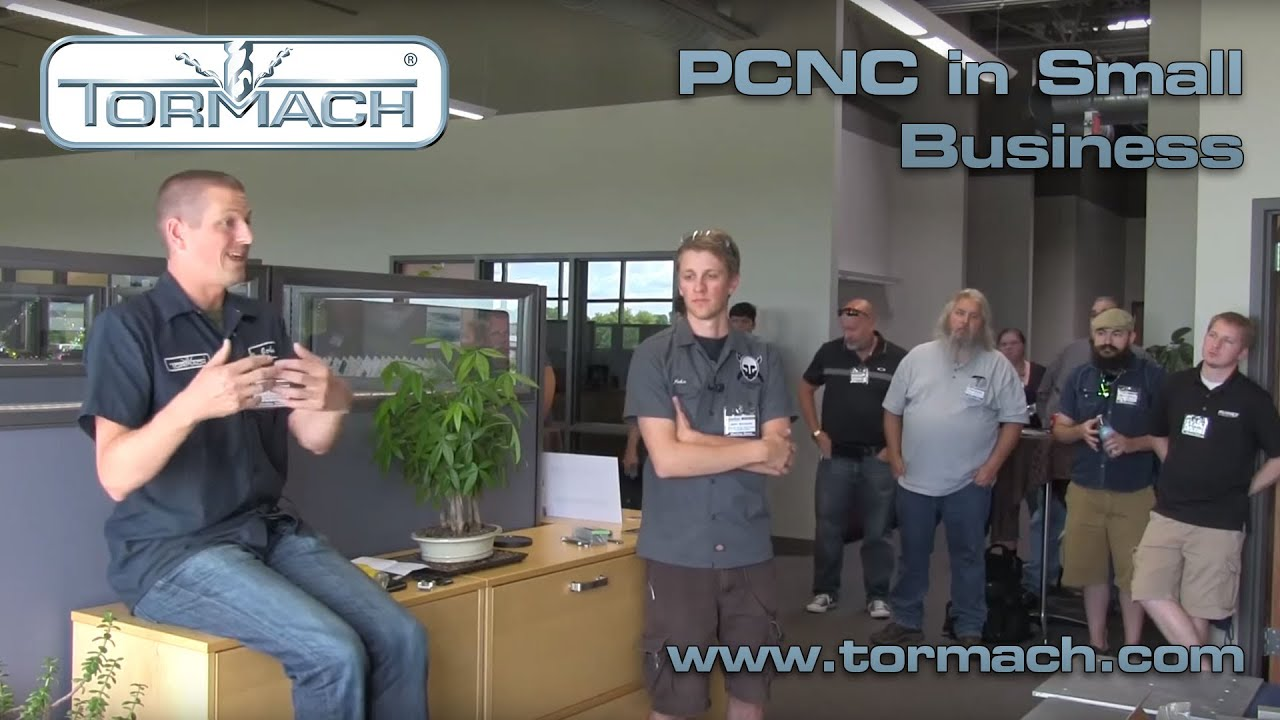 John Saunders and John Grimsmo Talk About CNC in Small Business