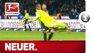 Top 10 Manuel Neuer Sweeper-Keeper Moments - Advent Calendar 2015 Number 1 thumbnail