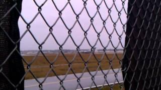 Multiple Boeing C-17 Globemaster III taking off