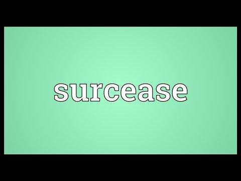 Header of surcease