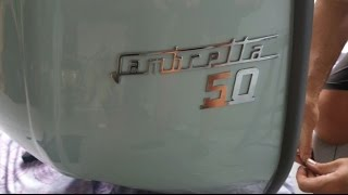 RESTAURO LAMBRETTA J50 DELUXE -PARTE 1