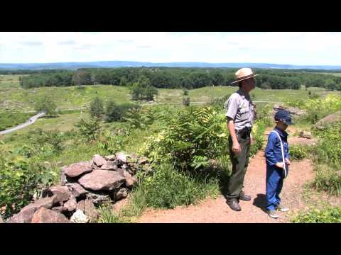 Little Round Top  Ranger Matt Atkinson