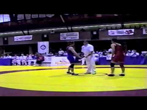 2000 Senior National Championships: 62 kg Tara Hedican vs.Melissa Kindratsy