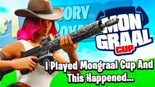 So I Played The Mongraal Cup (And This Happened)