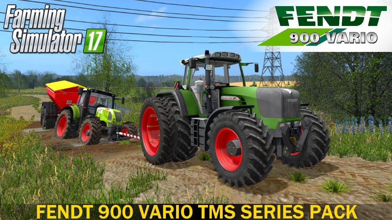 Farming Simulator 17 FENDT 900 VARIO TMS SERIES TRACTOR ...