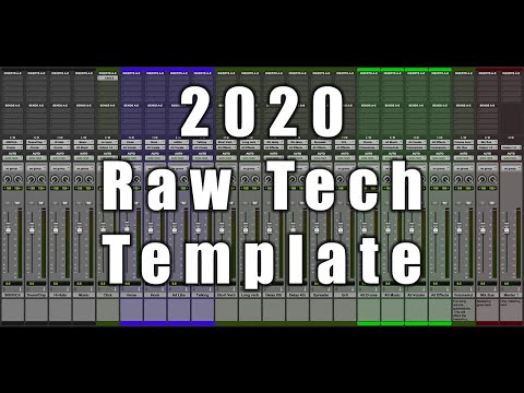 Free 2020 Pro Tools Template – This is what I personally use