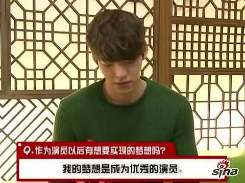 Kim Woo Bin 2013.02.26 Sina interview w/ English Captions