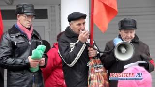 ЭКСКЛЮЗИВ: по улицам Кингисеппа прошел парад Великого Октября KINGISEPP.RU