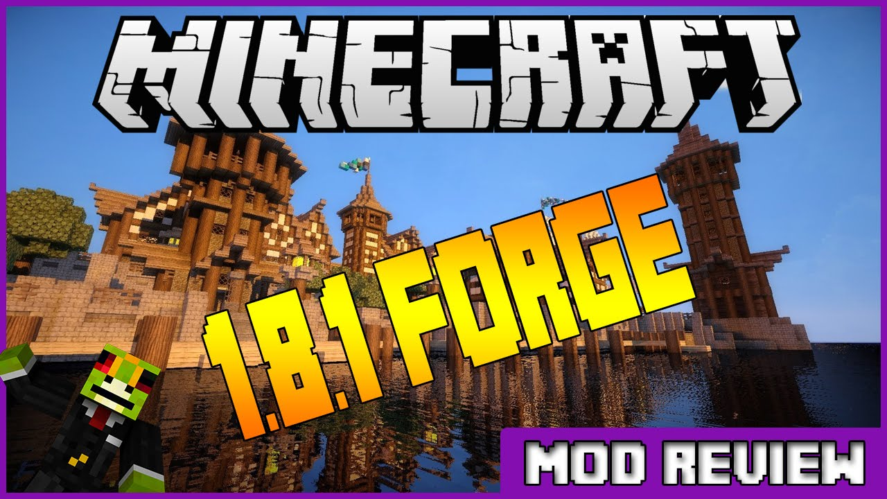 Minecraft Forge 1.8.1 Download Tutorial -Updated - YouTube