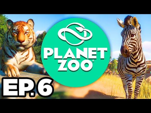 Planet Zoo Ep.6 - 🐺 TIMBER WOLVES! MY FIRST ZOO: MAPLE LEAF WILDLIFE PARK!! (Gameplay / Let's Play)