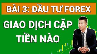 Forex Bài 3  Cặp tiền đầu tư Forex - Biểu đồ phân tích forex - Lệnh Chốt lời, Lệnh Cắt lỗ