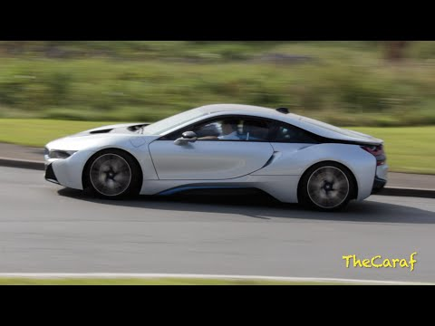 Bmw I8 Start Up And Acceleration Engine Sound Youtube