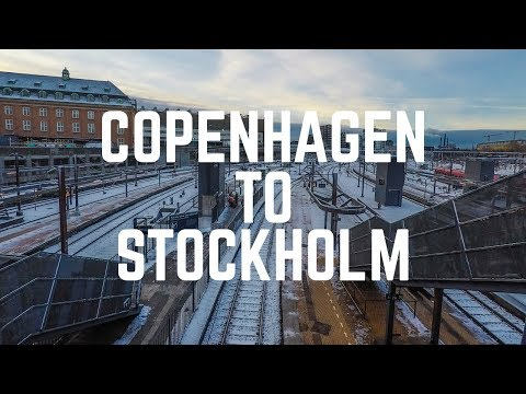 Copenhagen to Stockholm by Train | GoPro Hero 5 Black