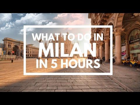 Visit Milano Italy, 5 hours tip Duomo & Square & Gallery Vittorio Emanuele & Sforza Castle & more