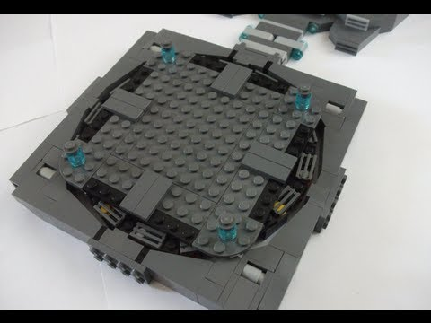 How to make a Lego Batcave Part 3 - Batmobile Turntable - YouTube