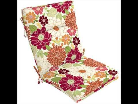 Outdoor Chair Pads Cushions Home Decor Furniture Ideas Youtube