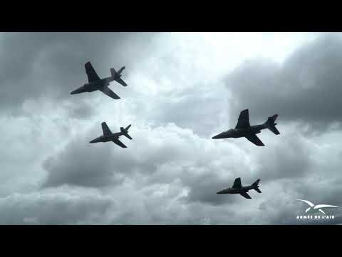 Dernier vol de l'École de l'aviation de chasse de Tours