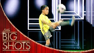 Rayane's Shows Off Some Amazing Football Tricks! | Little Big Shots