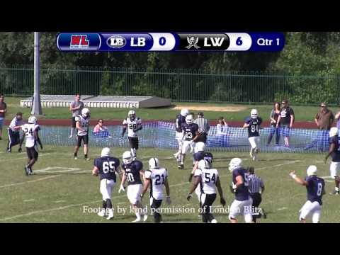 The Battle of London - Blitz v Warriors Aug 2013