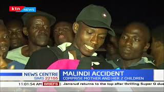 MALINDI ACCIDENT: Three killed in grisly road accident, victims include a mother and her 2 children