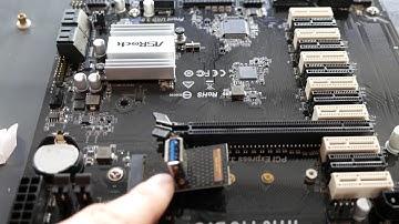 13 GPU Motherboard By ASRock H110 Review and Setup