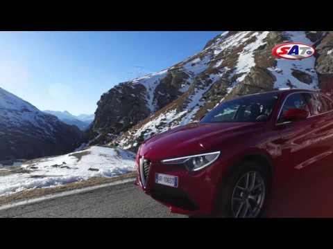 Alfa Romeo Stelvio – Road test drive by SAT TV Show