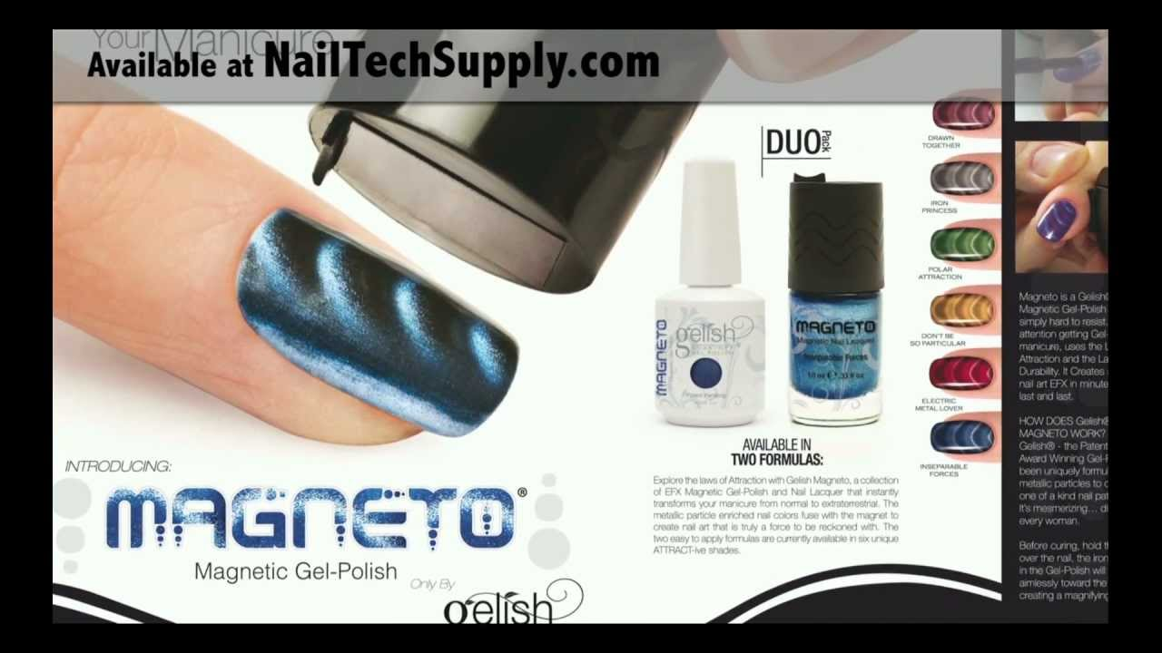 Magneto by Gelish Get It at NailTechSupply.com - YouTube
