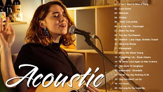 Top Acoustic Songs 2021 Collection - Greatest Hits English Acoustic Cover Of Popular Love Songs Ever