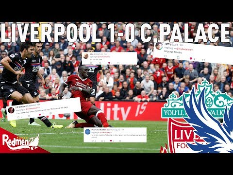 Liverpool v Crystal Palace 1-0 | Twitter Reactions