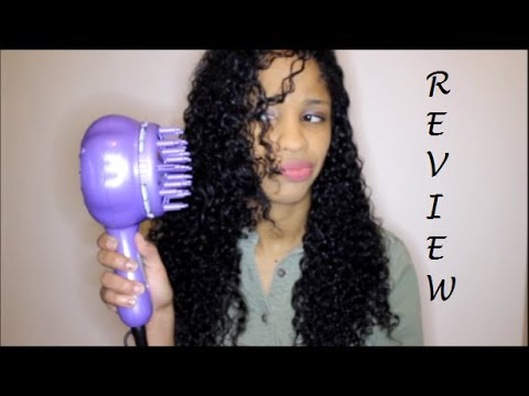 curly winter days- curl fusion diffuser review~ - youtube