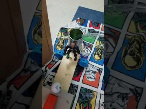 New Mark Middle School Rube Goldberg Machine  Run 1