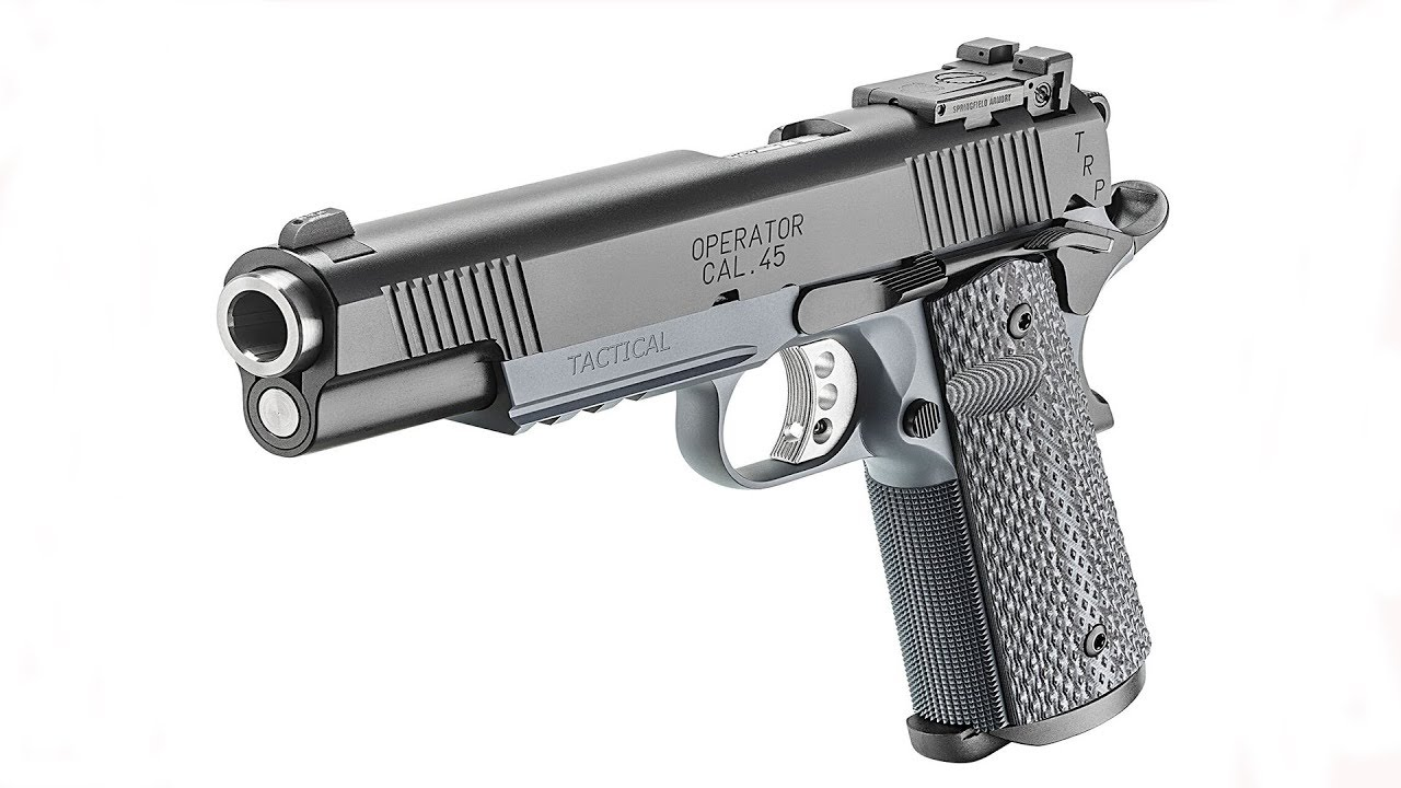Introduction to the Springfield Armory TRP Tactical Operator