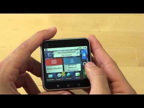 Motorola Flipout Test Internet