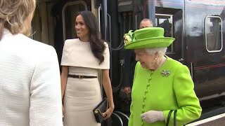 Meghan Markle attends events with Queen Elizabeth