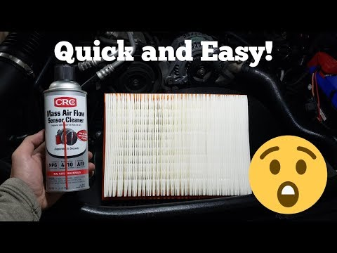 How To: Change Air Filter And Clean MAF/ MAP / IAT Sensor (2005 - 2010) Jeep Grand Cherokee WK