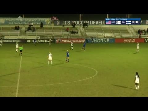 2017 Nike International Friendlies: U-20 WNT vs. Finland