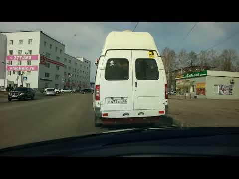 Опасная маршрутка в г. Ульяновске