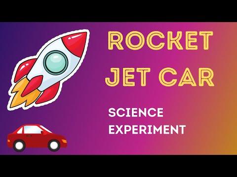 Rocket Jet Car