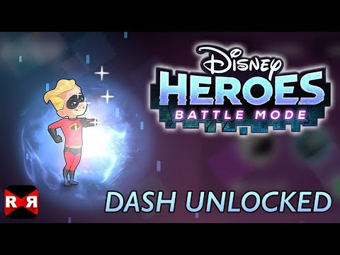 DASH Unlocked - Disney Heroes: Battle Mode -  IOS / Android Gameplay