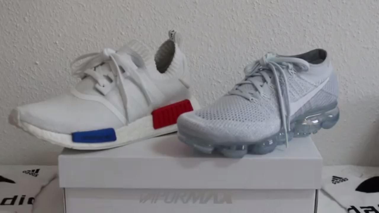 dd7c05c38be63 Clash of the Titan Adidas Boost Primeknit vs Nike Vapormax Flyknit ...