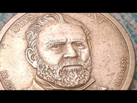 Error Dollar Coin U.S, Ulysses S Grant 1 Dollar Coin Worth