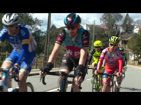 Ciclismo: Raúl Alarcón subiu ao pódio da Clássica Aldeias do Xisto (25/03/18)
