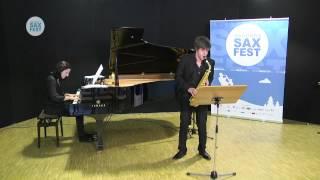 ALEJANDRO ÁYAX LLORENTE – ELIMINATORY ROUND – I ANDORRA INTERNATIONAL SAXOPHONE COMPETITION 2014