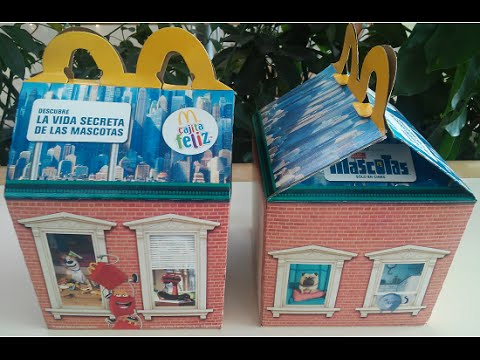 Cajita Feliz McDonald's La Vida Secreta De Tus Mascotas (Julio/Agosto 2016)