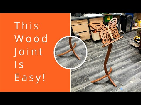 How to Woodworking joint that looks hard but it's easy || Simple Joinery