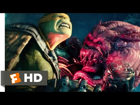 Teenage Mutant Ninja Turtles 2 (2016) - Fighting Krang Scene (10/10) | Movieclips